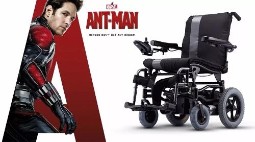 蚁人 VS 康扬KP-10.3S电动轮椅