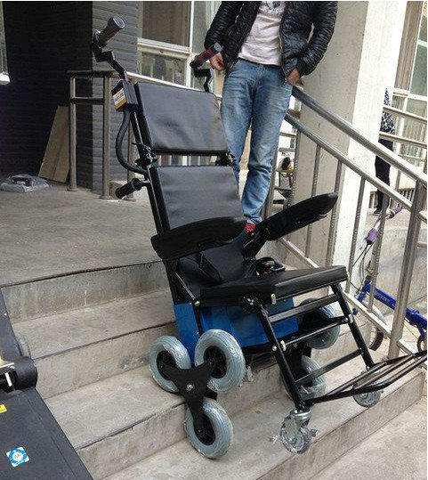 有没有可以爬楼梯的电动轮椅