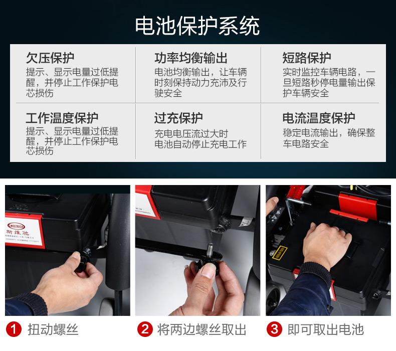 斯维驰SW1102C电动轮椅电路保护系统