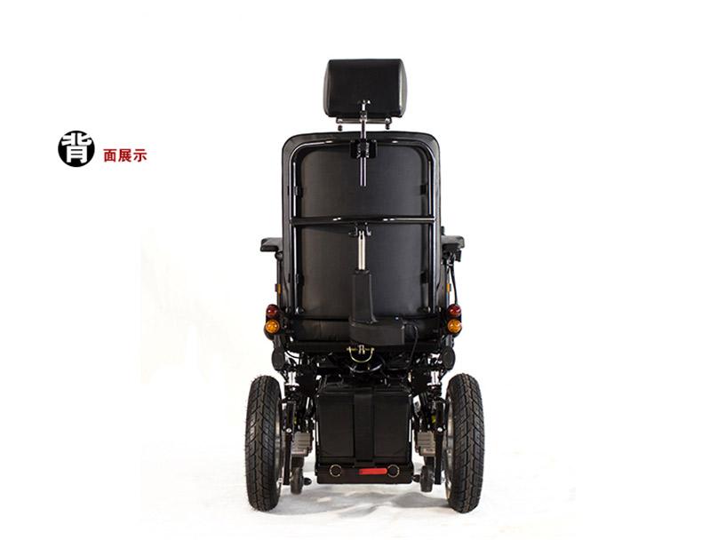 威之群1023-31电动轮椅背面效果图