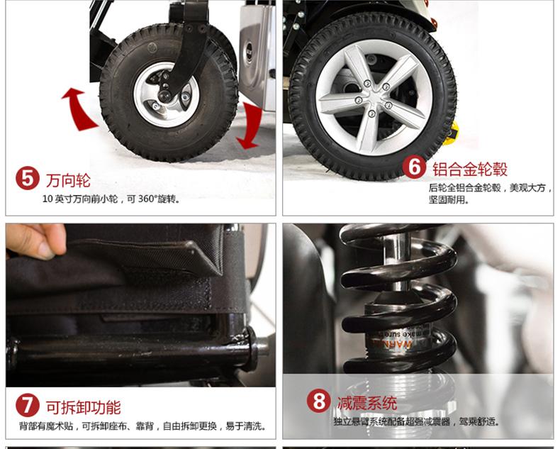 威之群电动轮椅1023-36细节图