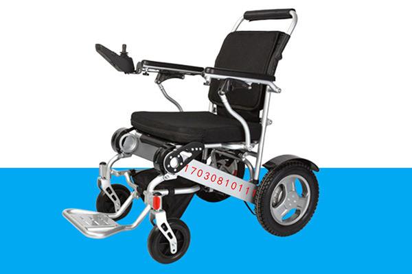 金百合折叠电动轮椅