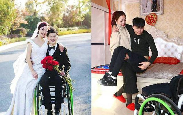 河北截瘫轮椅小伙做直播成网红 靠坚强与乐观零彩礼俘获美女粉丝新娘