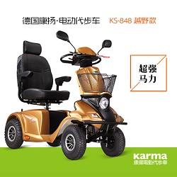 康扬KS848老年电动代步车_巨无霸豪华越野款老年代步车