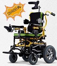 康扬KP-12T儿童电动轮椅陪伴小朋友健康成长