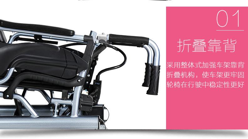 互邦HBLD2-F双锂电电动轮椅车