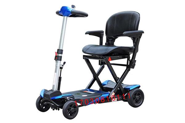 舒乐适S3021折叠电动轮椅代步车