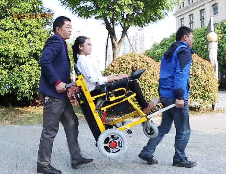 电动爬楼轮椅担架功能