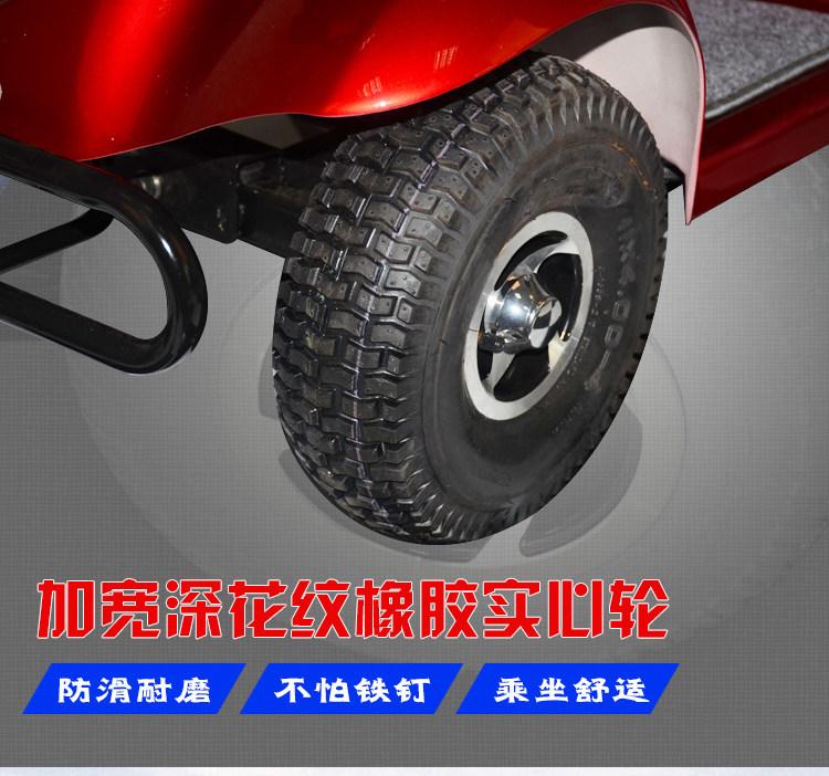 金百合DB-12电动代步车轮胎图片