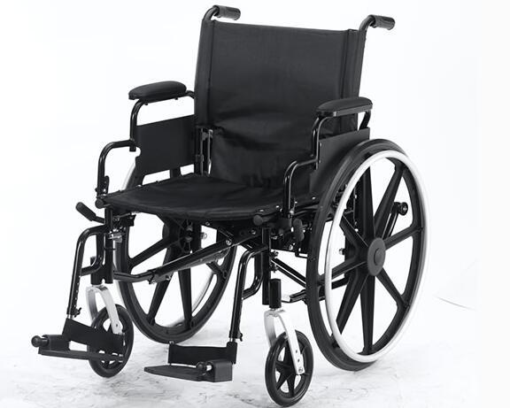 普通轮椅的使用说明
