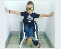 6岁轮椅小子获奖无数,他是怎么做到的