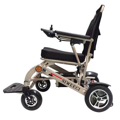 超轻折叠电动轮椅