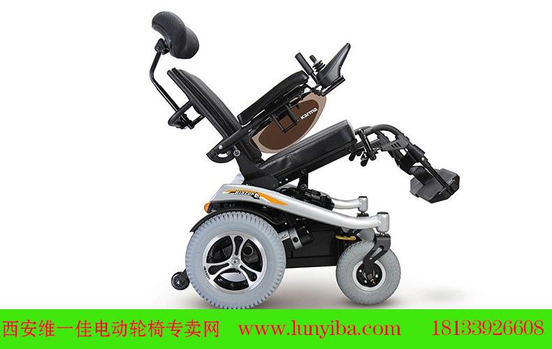 康扬电动轮椅KP31T电动挺仰功能图片