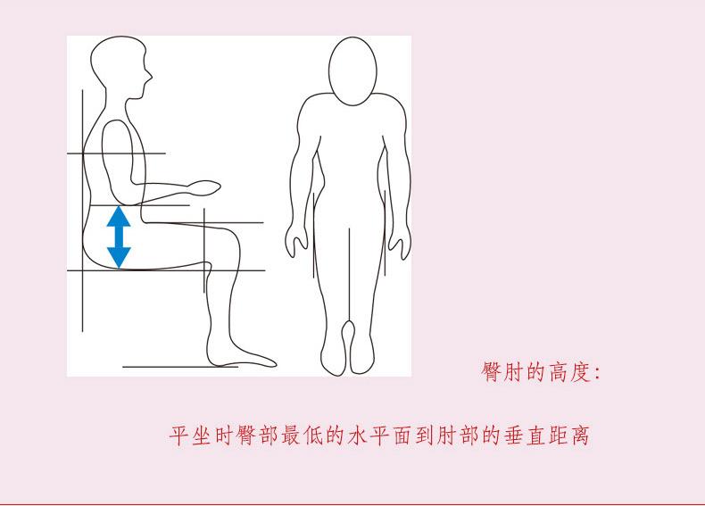定制轮椅尺寸测量方法